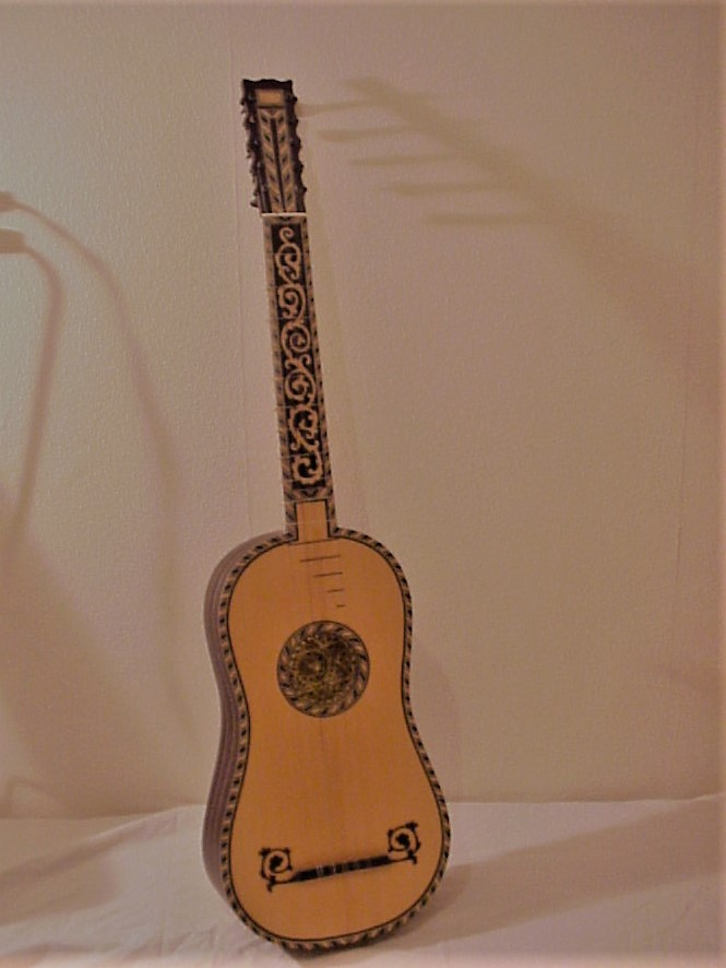 Baroque guitar in the Voboam style